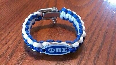 Phi Beta Sigma Survival Bracelet