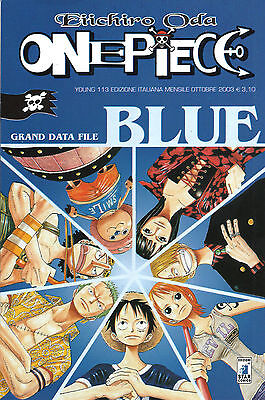 ONE PIECE speciali ed. star comics manga BLUE-BLUE DEEP-GREEN-RED-WANTED-YELLOW