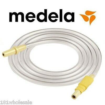 GENUINE 100% Medela Silicone Tubing Twin Polygon Adapter Swing BPA Free PVC PUMP
