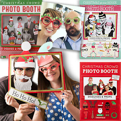 PHOTO BOOTH PARTY PROPS / Birthday Christmas Halloween Wedding Picture Game Gift