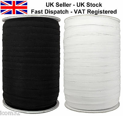 Flat Woven corded Elastic for Waistbands Cuffs, Tailoring Sewing & Dressmaking