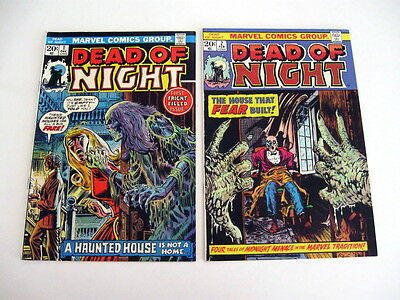 *DEAD OF NIGHT HIGH GRADE LOT 10 Books Guide $239 Intro Scarecrow!