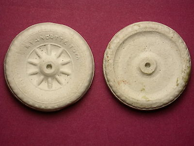 """2"""" WHEELS FOR WYANDOTTE LASALLE & TRAILER - REPLACEMENTS - NEW"""