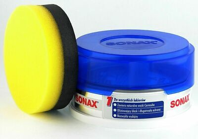 SONAX Xtreme Carnauba Wax - 150ml Tin With Applicator High Gloss and Shine Wax