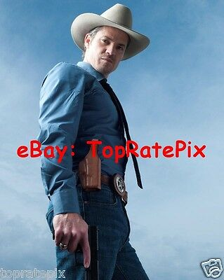 TIMOTHY OLYPHANT  -  Justified Actor  -  8x10 Photo #2
