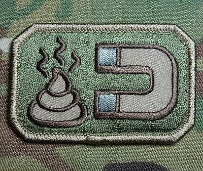 Sh*t Magnet Army Usa Isaf Combat Multicam Velcro® Brand Fastener Patch
