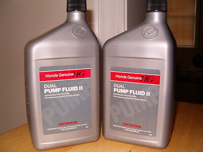 2 Qts - Honda Dual Pump Fluid II for 4WD CRV CROSSTOUR and ELEMENT