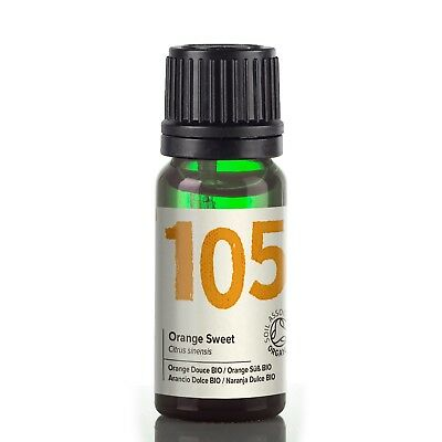 Naissance Orange Certified Organic Essential Oil Use in Aromatherapy