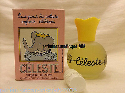 Nib Celeste Shao Ko Enfants Children 3.3 Oz / 100 Ml Eau Pour La Toilette Spray