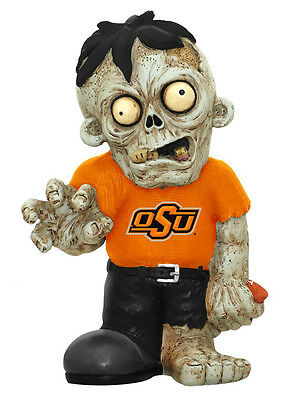 Oklahoma State Cowboys Team Zombie Figurine New Ncaa Figure Garden Gnome Cdg