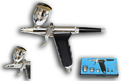 Mini Spraygun Style Trigger Gravity Feed Airbrush - Ab-116A