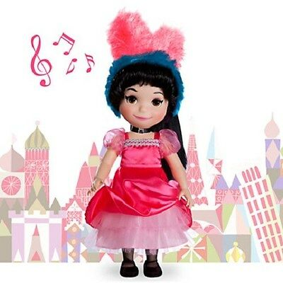 """New in Box DISNEY It's a Small World FRANCE Singing Doll 16"""" Ready to Ship"""