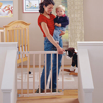 "North States Supergate Stairway Swing Gate 4630T For Kids/pets Fits 28-42"" - New"