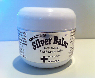 SILVER SALVE 4 ACNE, BACTERIAL RASH, PSORIASIS, LUPUS, PROBLEMATIC SKIN AMAZING!