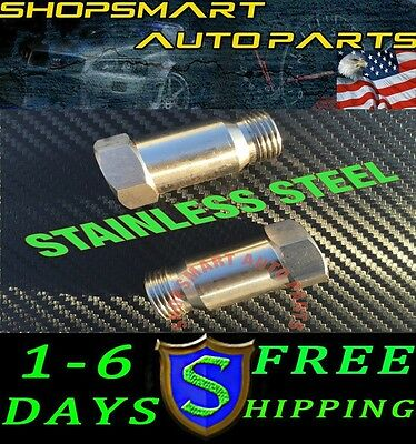 2X O2  OXYGEN SENSOR EXTENSION SPACER M18 x 1.5 02 BUNG  HHO ADAPTER OBD2 02