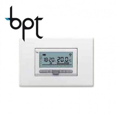 Bpt Th350 Cronotermotermostato Digitale Sett. Batt.69409100 Bianco