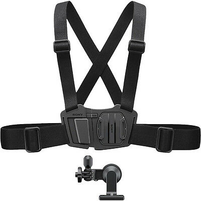 Sony Action Cam NEW Genuine Accessories Chest Mount Straps Chest Mount Harness