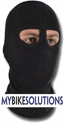 MBSmoto Thermal Cotton Motorcycle Motorbike TWO Hole BALACLAVA Face Mask Warmer