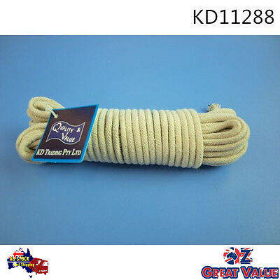 Braided Cotton Rope 5mm x 15M for General Purpose Household Use KD11288