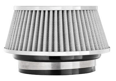 """SPECTRE PERFORMANCE AIR FILTER 8168 SHORT LOW PROFILE FITS 3 , 3.5 ,  4"""" INLET"""