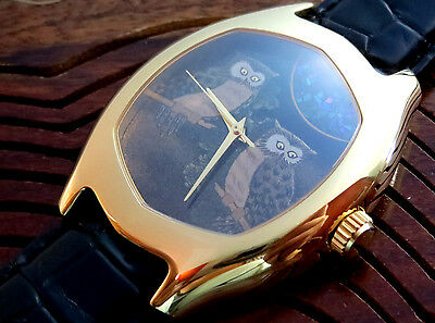Rare & Luxurious Bi-Sai Specially Handmade lacquer painted single dial sold$5900