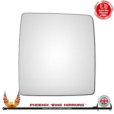 Right Hand Driver Side Vauxhall Combo Mk2 Van 2001-2011 Convex Wing Mirror Glass