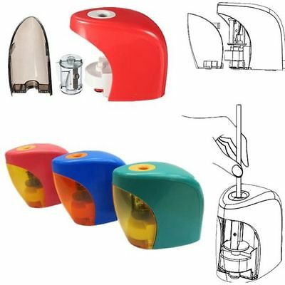 Electric Touch Automatic Switch Pencil Sharpener Home Office School Classroom