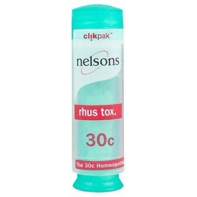 Nelsons Homeopathic Rhus Tox 30c (84 Pillules)