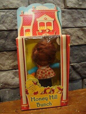 Vintage 1976 Mattel Honey Hill Bunch Curly Q Doll African American NRFB