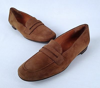 e6f13179d5c PAUL GREEN WOMENS SHOE NICKY COFFEE SUEDE LOAFER- Size US 6  AU 3.5(