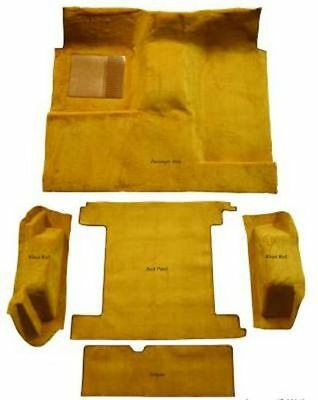 Carpet Kit For 1974-1976 Ford Bronco (Full Size) With 2 Gas Tank, Complete Kit