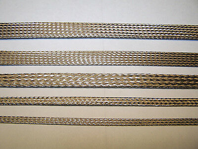 No Rust Real 304 Braided Stainless  Expandable Braid Sleeve Harness Cover
