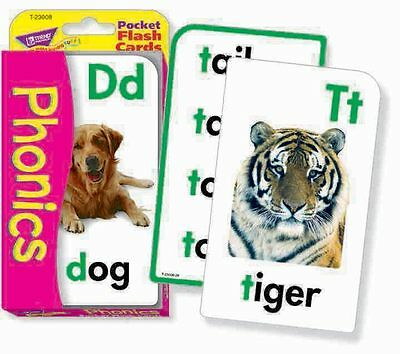 TREND Kids Phonics Children's Educational Pocket Flash Cards Game - T23008
