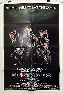 Ghostbusters - Bill Murray / Dan Aykroyd - Original American 1Sht Movie Poster