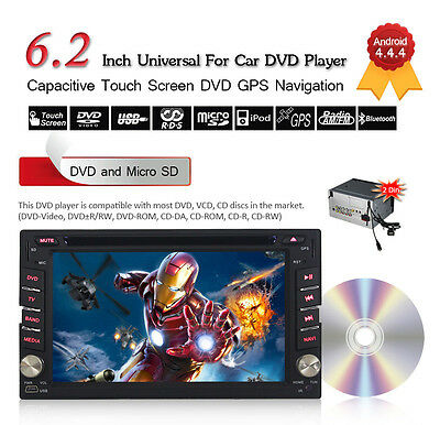 JOYOUS 2 DIN Android 4.2 Car DVD Player Dual Core 1.6GHz CPU 6.2 Inch Capacitive