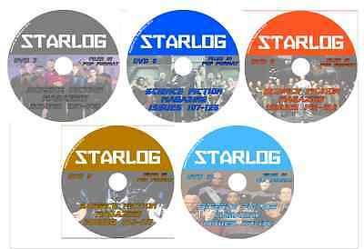 STARLOG 107-192 Sci-Fi Mag on 5 DVDs Star Trek, Batman Alien Nation, Star Wars +