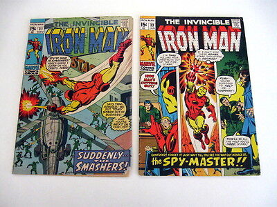 *IRON MAN #31-43 LOT 9 Books Guide $69