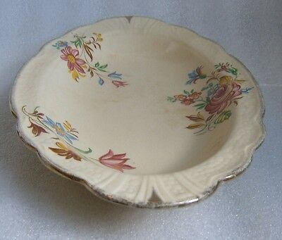 "ANTIQUE J & G MEAKIN ENGLAND CROWN ""SUNSHINE"" SERVING PLATE"