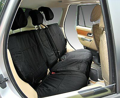 Range Rover Sport L320 Front Inka Tailored Waterproof Seat Covers Black 09-13