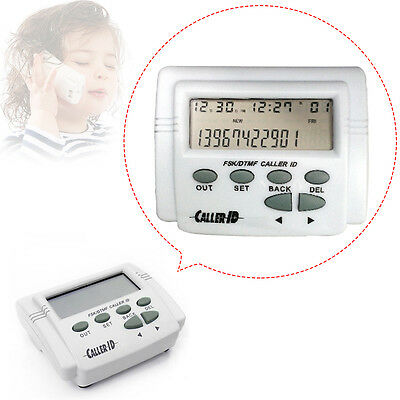 Home phone Caller ID Box CID-2008E LCD Display  & Cable for Mobile Phone