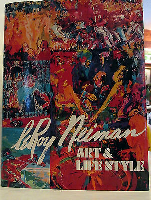 Book  Leroy Neiman Art and Lifestyle Great Condition