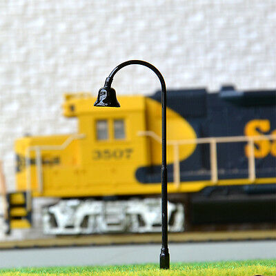 15 pcs HO Scale Model Lamppost SMD LED Made Street Light No Hot/Melt Lamp #R32