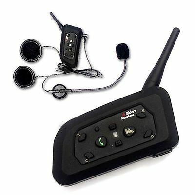 2 1000m BT interphone bluetooth motorcycle Motorbike helmet intercom Headset SET