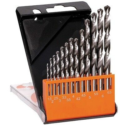 Qty 1 Frost 13 Piece Metric Drill Set High Speed Steel Drill Bits HSS