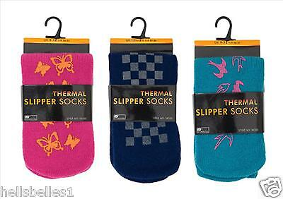 Boy/Girl's Soft Thermal Slipper Socks/Bed Socks Non Slip 9-12 12-3 4-6