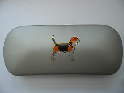 BEAGLE HOUND HUNTING dog  brand new Metal Glasses Case ideal gift for Christmas