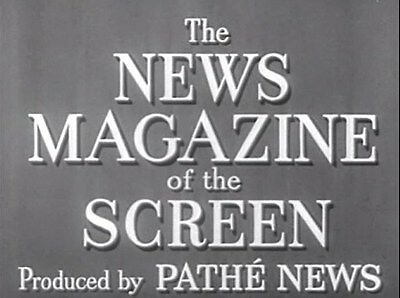 Newsreels Pathe The News Magazine Of The Screen 18 Vintage 1950s Films 2 DVDs