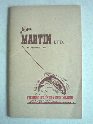 A Vintage Alex Martin Advertising Catalogue For 1950 With Price List