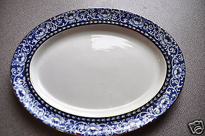 Wood and Sons  Burlington Serving Plate approx 11 x 8 1/2 RN 630193
