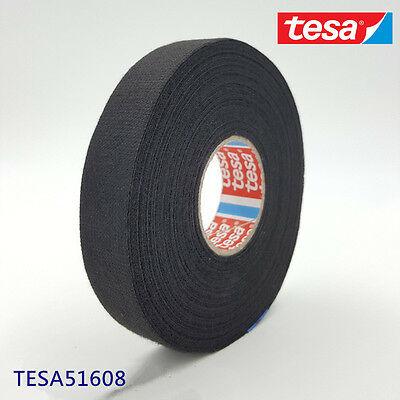 TESA 51608 19mm x 25m, Adhesive Cloth Fabric Tape cable looms,wiring harness